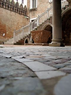 Courtyard of the Cà d'Oro. Venice