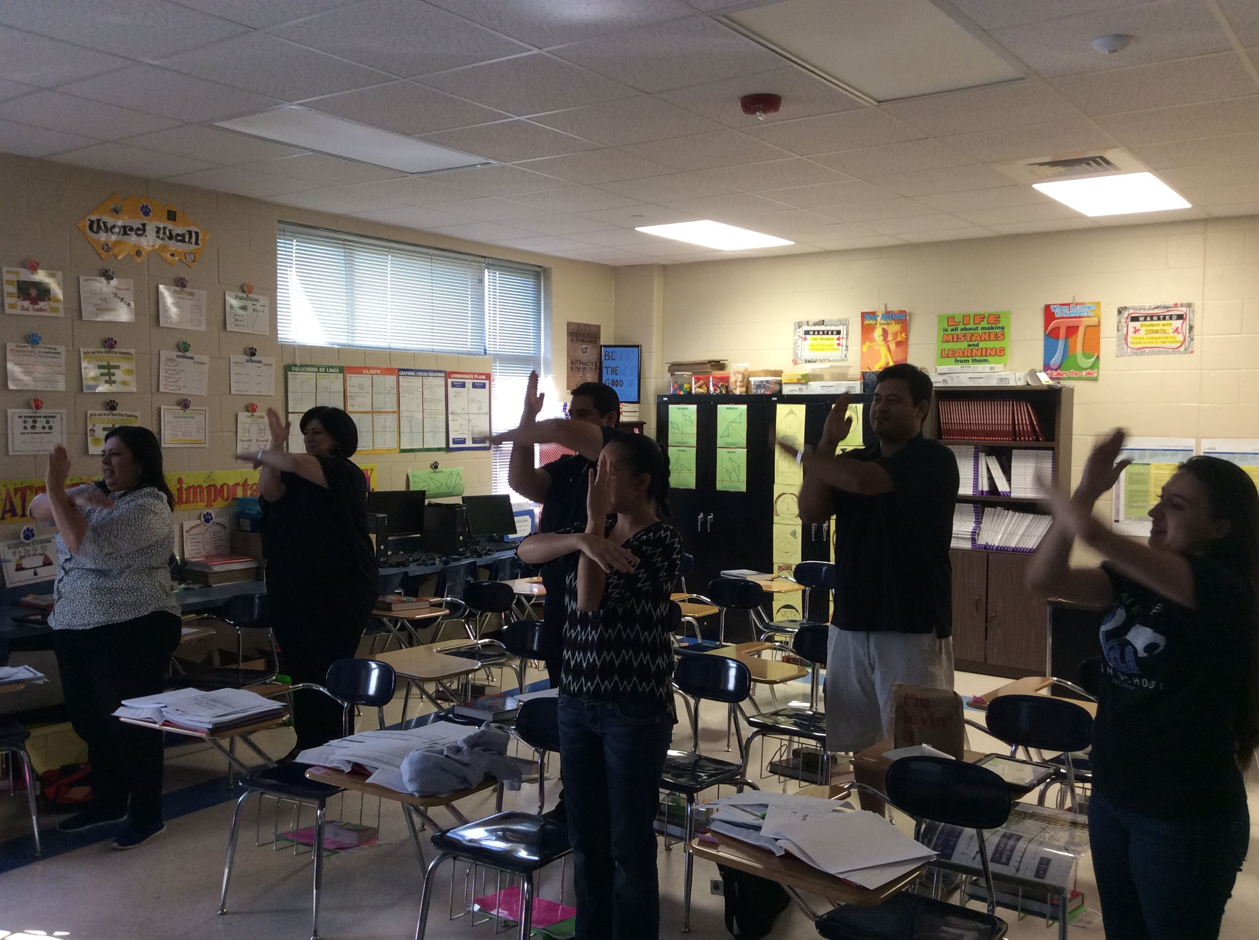 Professional Development For Algebra I Kinesthetic