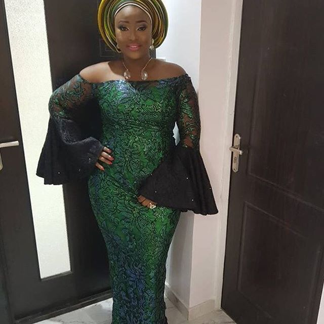 c479023c76aa12 Best Latest and Beautiful Aso Ebi Gown Styles for Stylish Wedding Guests...Best  Latest and Beautiful Aso Ebi Gown Styles for Stylish Wedding Guests
