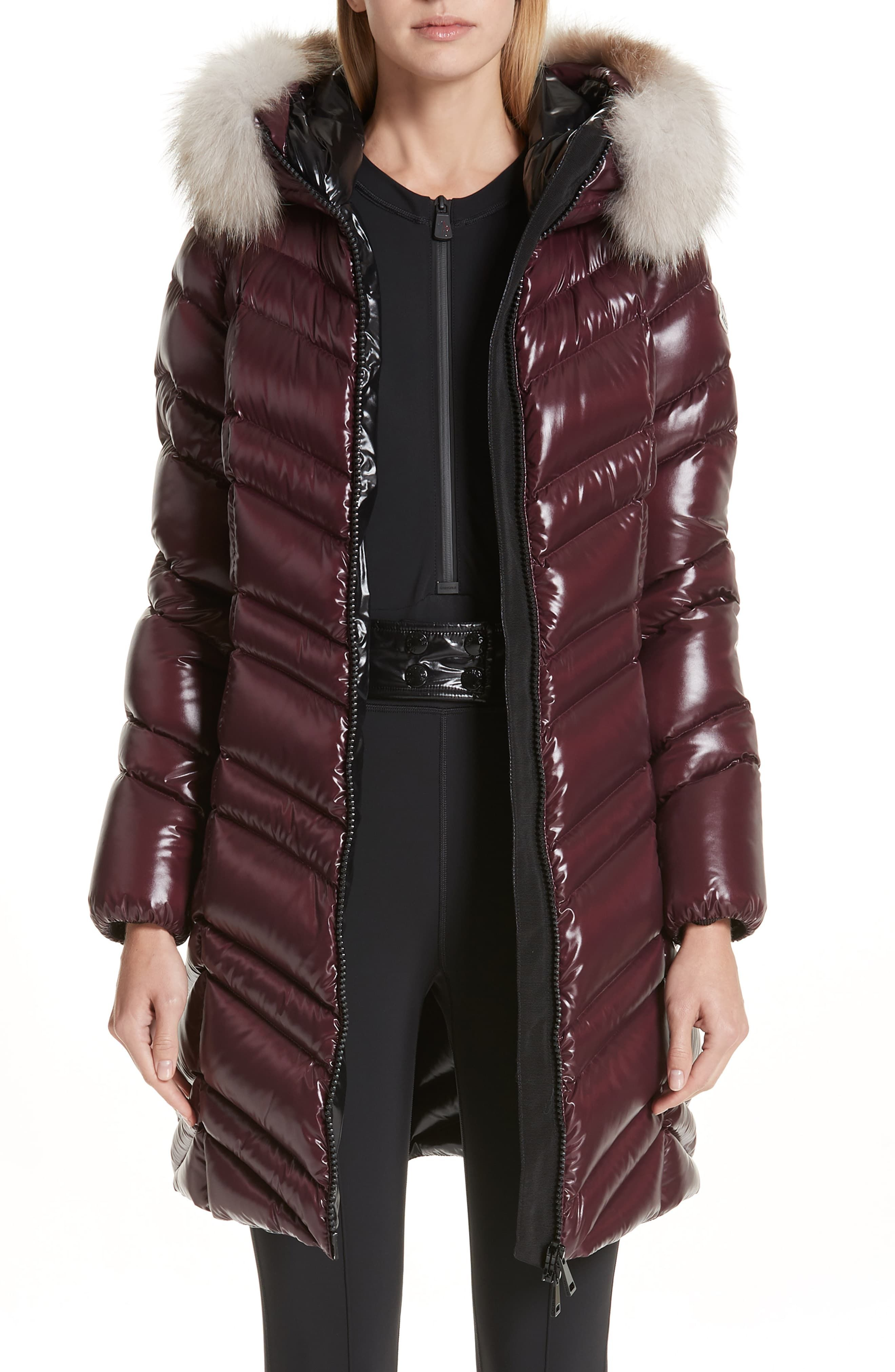 320ac9d421d Women's Moncler Fulmar Hooded Down Puffer Coat With Removable ...