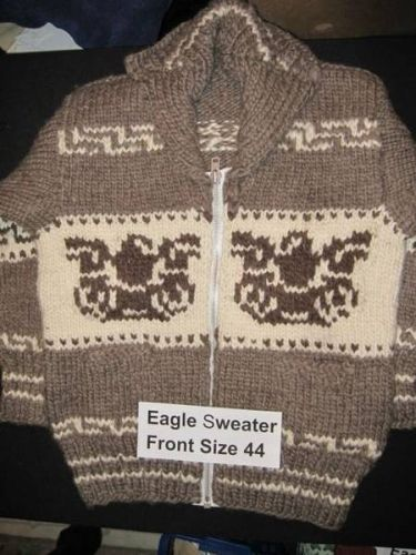 9f1ff4016167 Authentic Cowichan Indian Sweaters