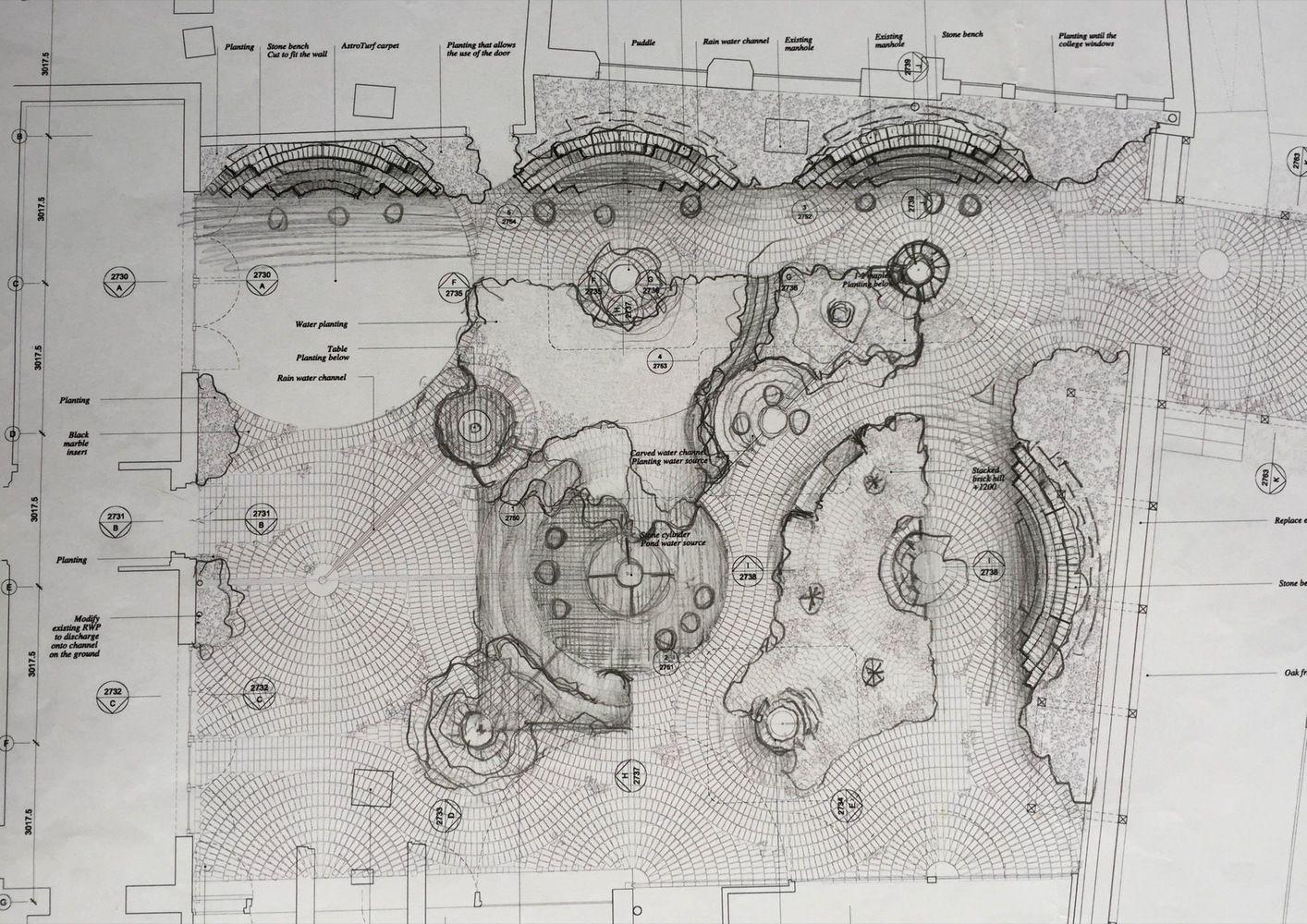 Galería de Nuevo jardín permanente / Gabriel Orozco - 5