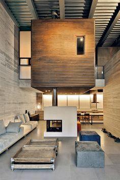 Interior design | decoration | Loft Interior | Residence & office space in New Philothei #pin_it #furniture #home #decoration #decoração @mundodascasas www.mundodascasas.com.br