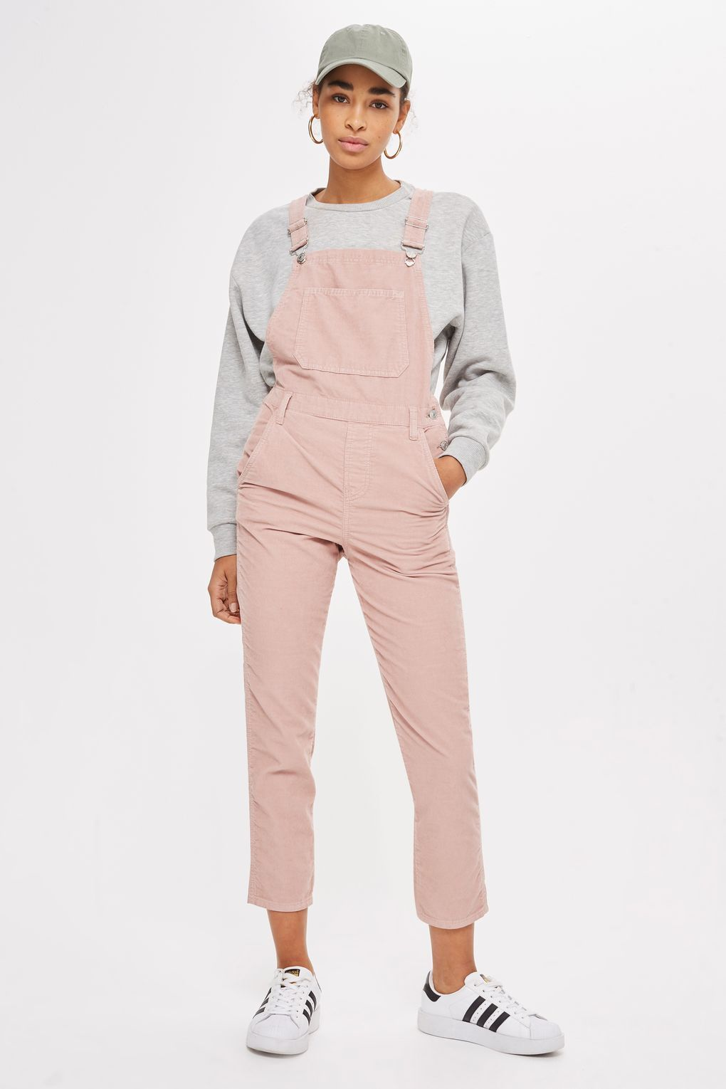 MOTO Pink Cord Slim Leg Dungarees - New In Fashion - New In ...