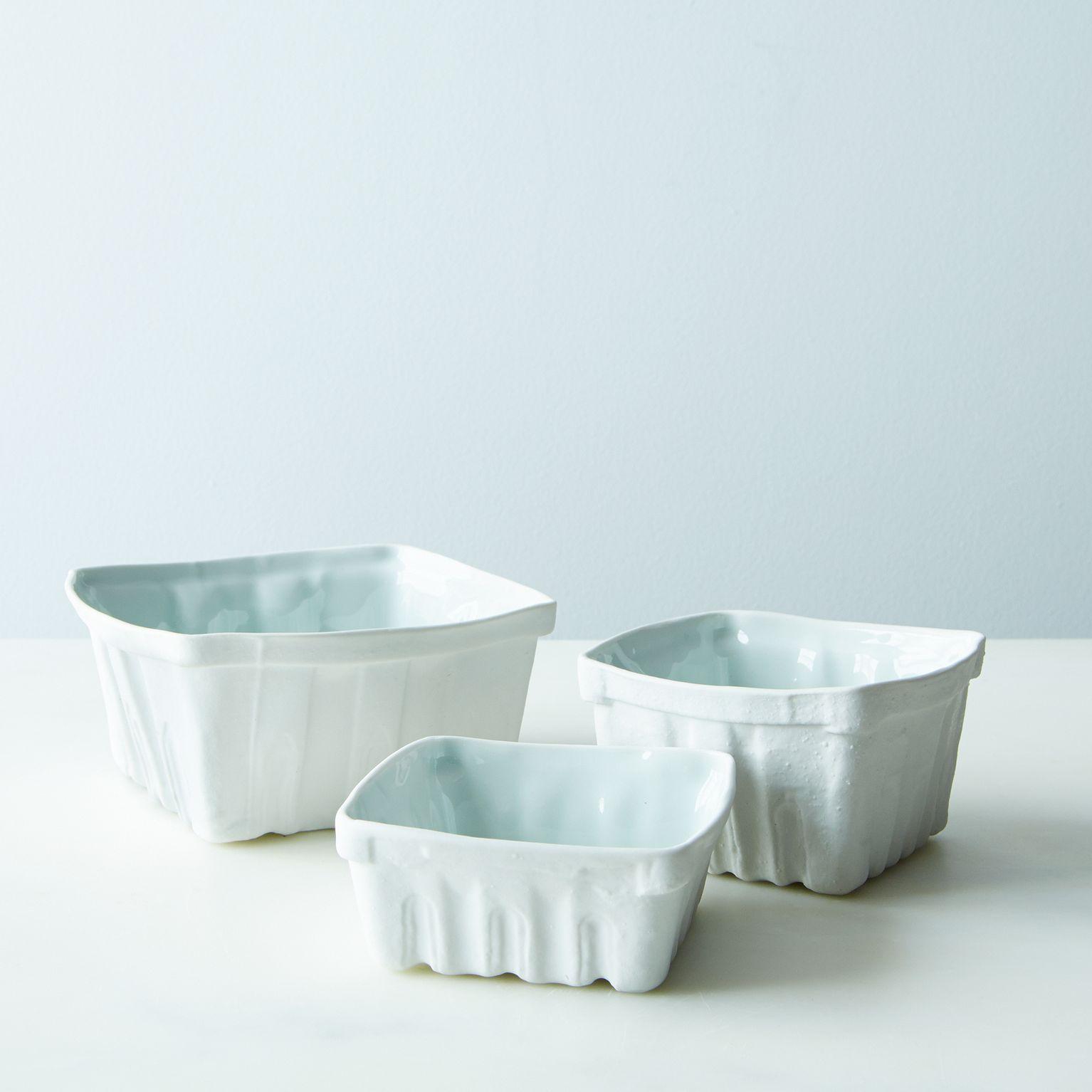 Heritage Edition Porcelain Berry Baskets (Set of 3)