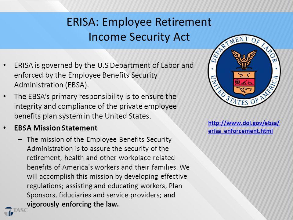 ERISA Compliance & DOL Enforcement ppt download (With