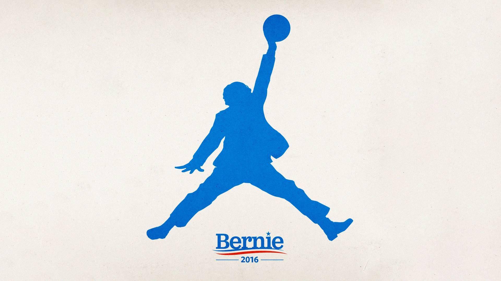 Michael jordan iphone wallpaper tumblr - This Bernie Sanders Air Jordan Logo Mash Up Is Beautiful By Now You Ve Probably Seen The Video Of Bernie Sanders Ballin Outta Control After His Huge Win