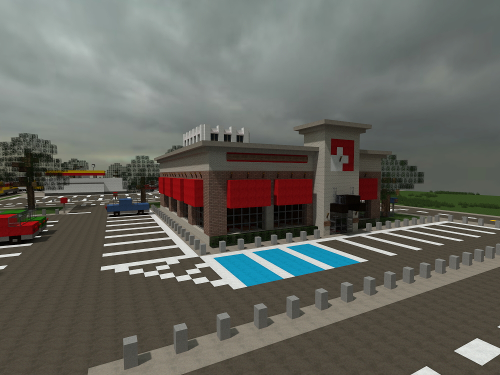 Minecraft Restaurant  by Yazur on deviantART mindcraft