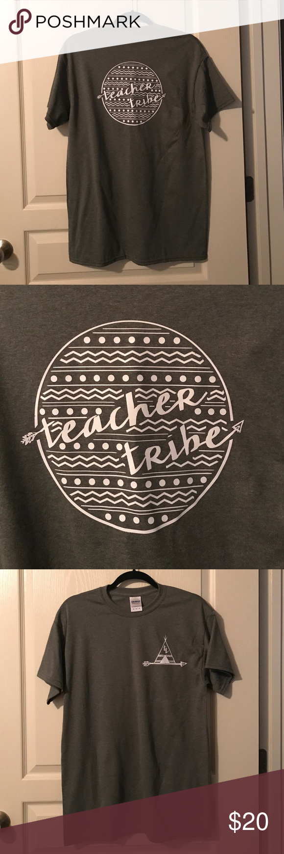 """Download Olive Teacher Tribe T-Shirt """"Teacher Tribe"""" tee in olive ..."""