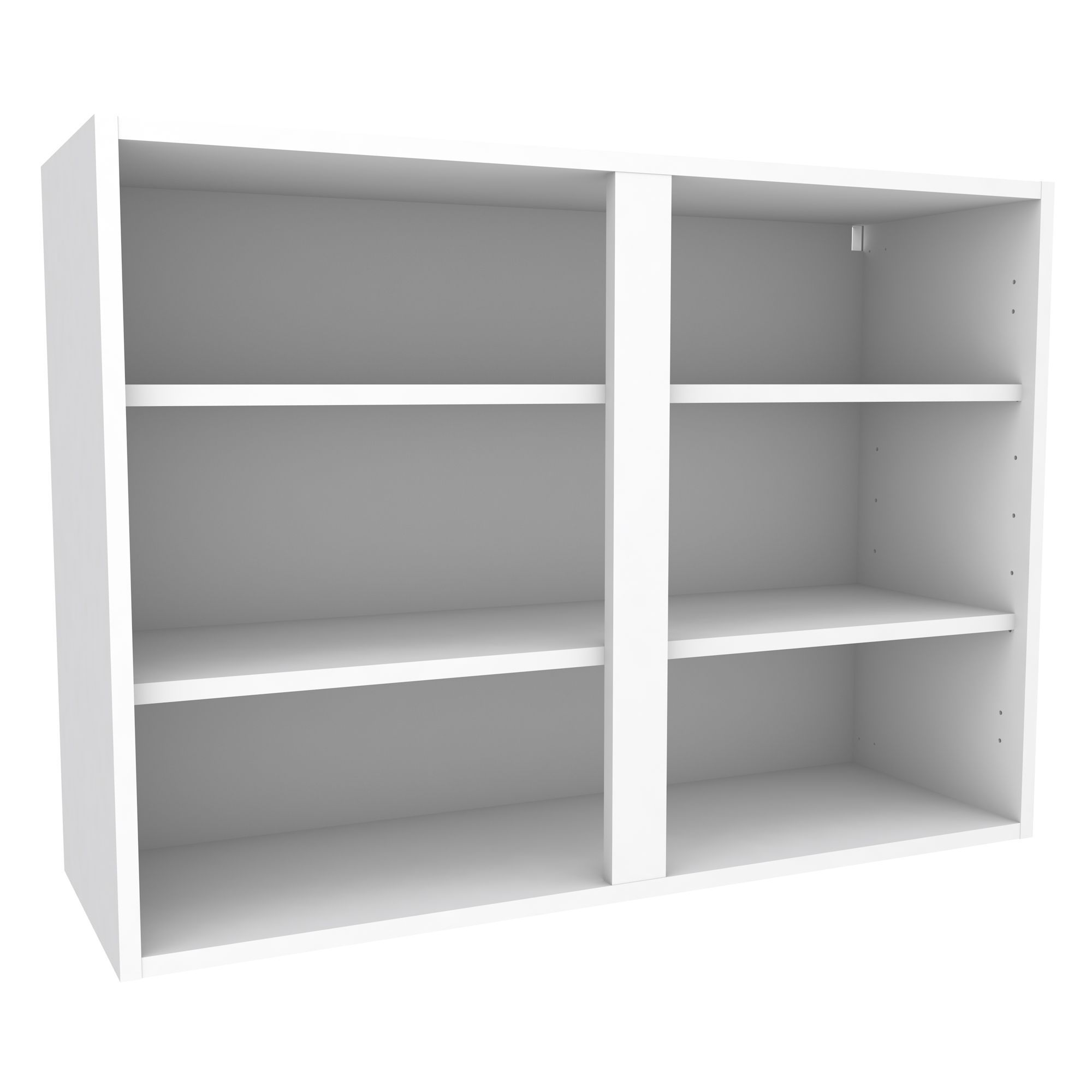 Cooke & Lewis White Standard Wall Cabinet (W)1000mm   Walls