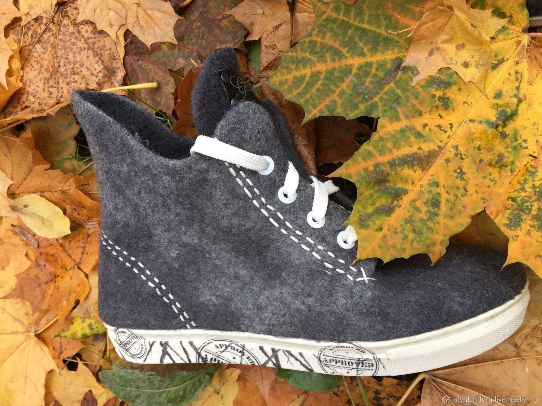 c39f2489e #Shoes# обувь ручной работы. Ярмарка Мастеров - ручная работа. Купить Кеды  валяные