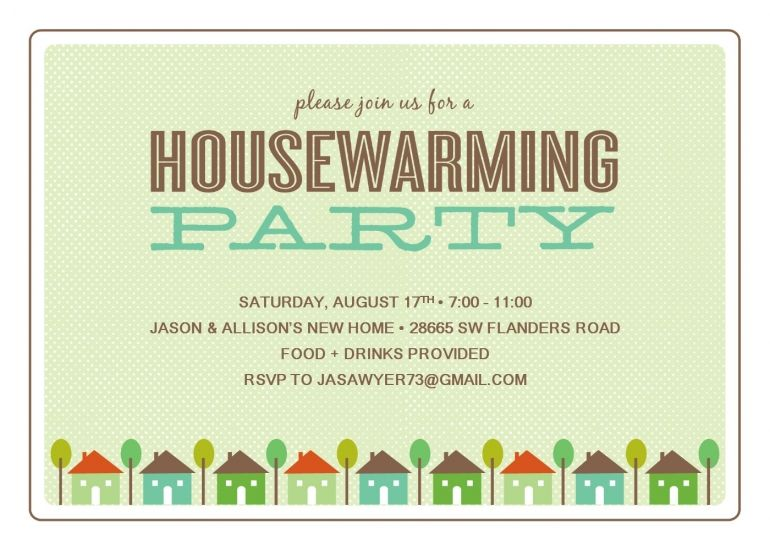 Free Printable Housewarming Party Templates | Housewarming