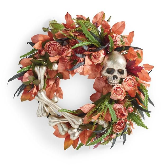 Fright Floral Wreath halloween in 2018 Pinterest Halloween