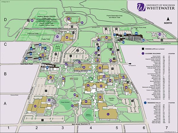 Digital Campus Map Restoration On Behance Listrak Creative