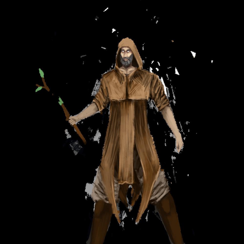 Piece of an avatar