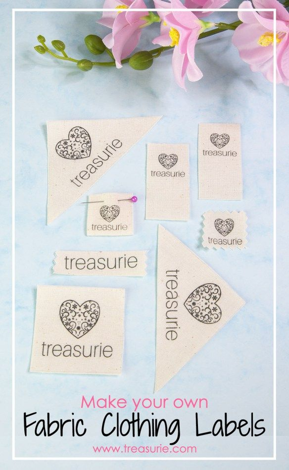 72acfa00b474 Make your own Clothing Labels: DIY Fabric Labels Cheaply | 2 ...