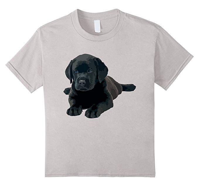 f973f4f6 Kids Black Lab T shirt - Black Lab Dog Lie Funny Shirt 4 Silver | Sponsored