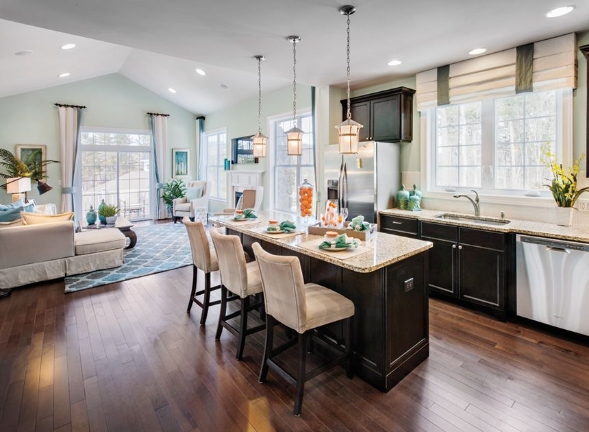 Toll Brothers Spacious Kitchen That Is Open To The