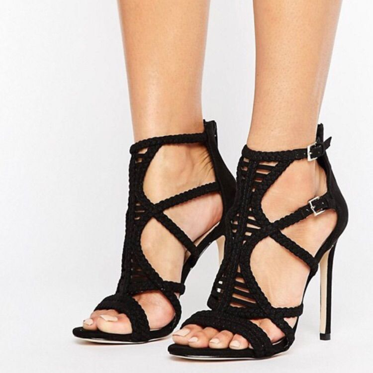 shop sleek official store Aldo Shoes   Aldo Black Sandal Heels   Color: Black   Size ...