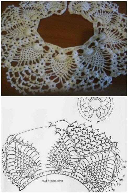 Piñas en círculo con aumentos a crochet | Ma Eugenia | Pinterest ...