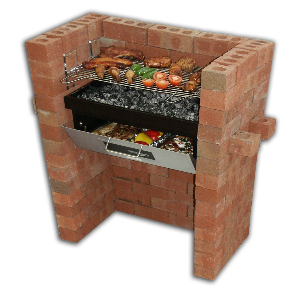 Brick Grills And Outdoor Countertops Building Your: Barbecue Grill & Bake With Oven & BBQ Grill