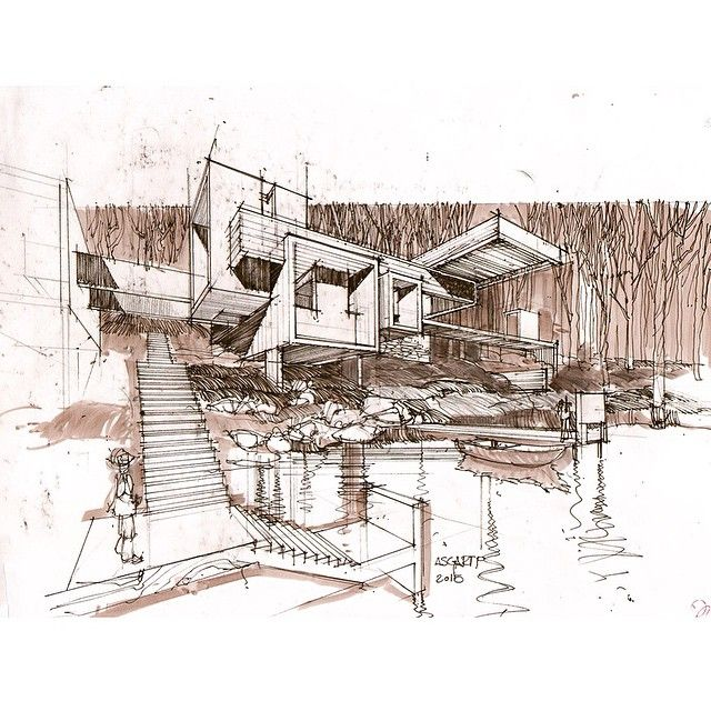 architectural hand drawings. Modren Hand Architectural Sketches Hand Drawings Architecture With Drawings