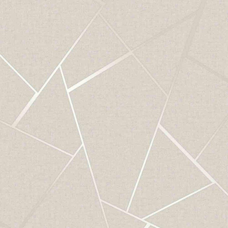 Arthouse Crushed Stripe Neutral Natural Cream Textured Vinyl Luxury Wallpaper