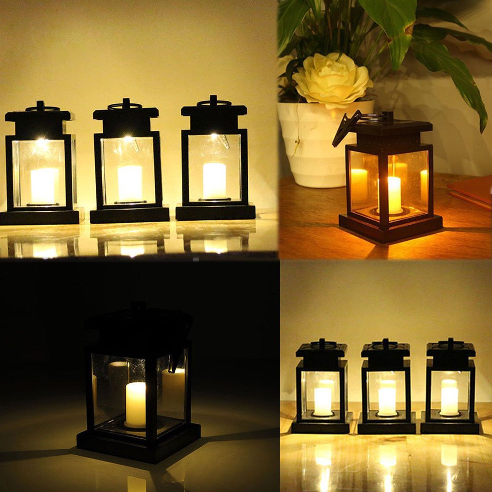 15 Top Raised Ranch Interior Design Ideas To Steal: New Solar LED Hanging Lantern Light Waterproof Outdoor