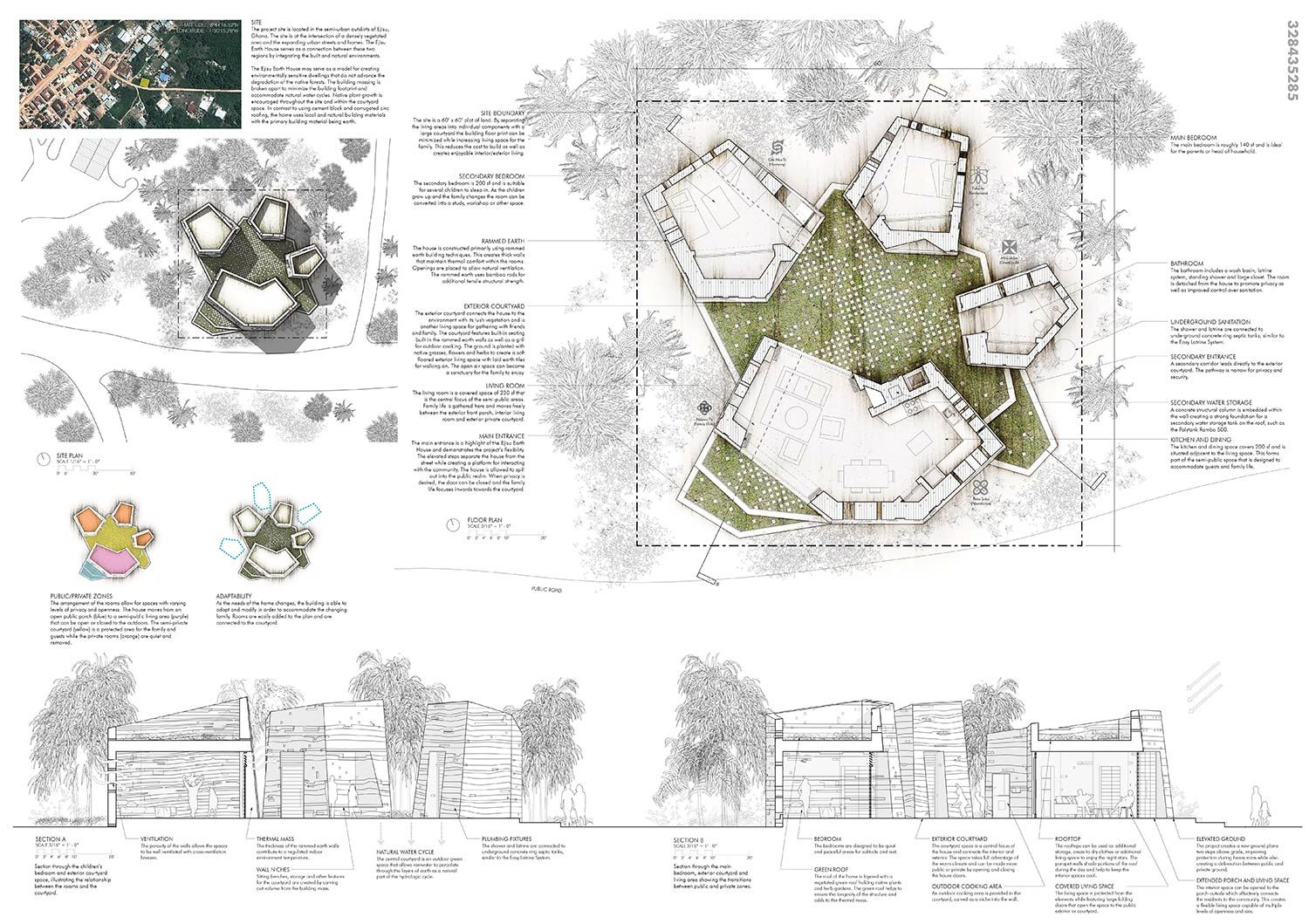 Architecture House Competition mud house design competition - winners announced | urbanland