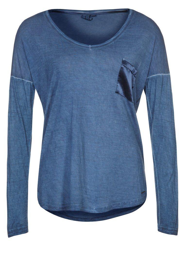 FRESCO - T-shirt - långärmad - Blått