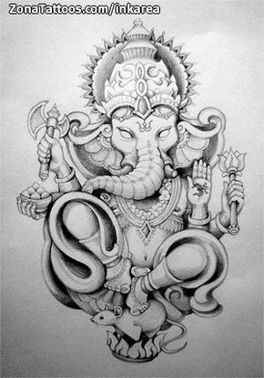 ganesha tattoo google search pinterest ganesha tattoo ganesha and google search. Black Bedroom Furniture Sets. Home Design Ideas