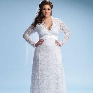 davids bridal collection allover lace plus size. allure women ...