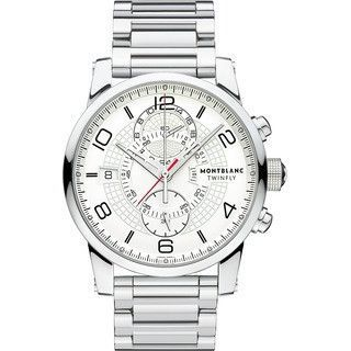 Montblanc TimeWalker TwinFly Chronograph Steel Watch 109133