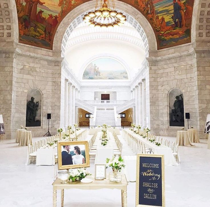 Wedding Reception At Utah State Capitol!! #utahwedding