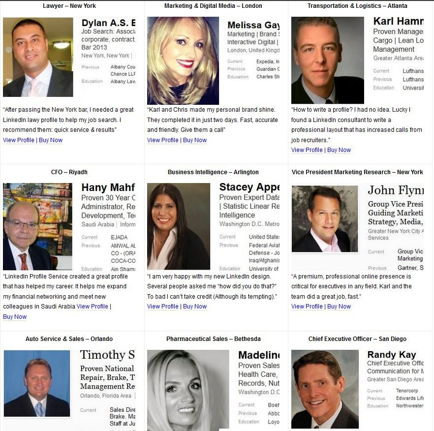 Best Linkedin Profile Examples Of 2013 Best Linkedin