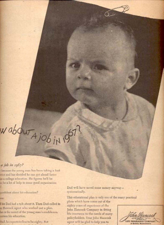 1945 John Hancock Life Insurance Company ad (# 4424 ...