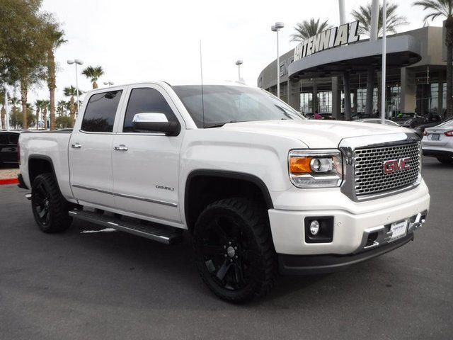 Shop For Your 2015 White Diamond Tricoat Crew Cab Standard Box 4 Wheel Drive Denali Gmc Sierra 1500 In Las Vegas At Centennial B Gmc Sierra 1500 Gmc Sierra Gmc