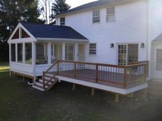 Three Seasons Room Always Wanted One Porch Design House With Porch Building A Porch