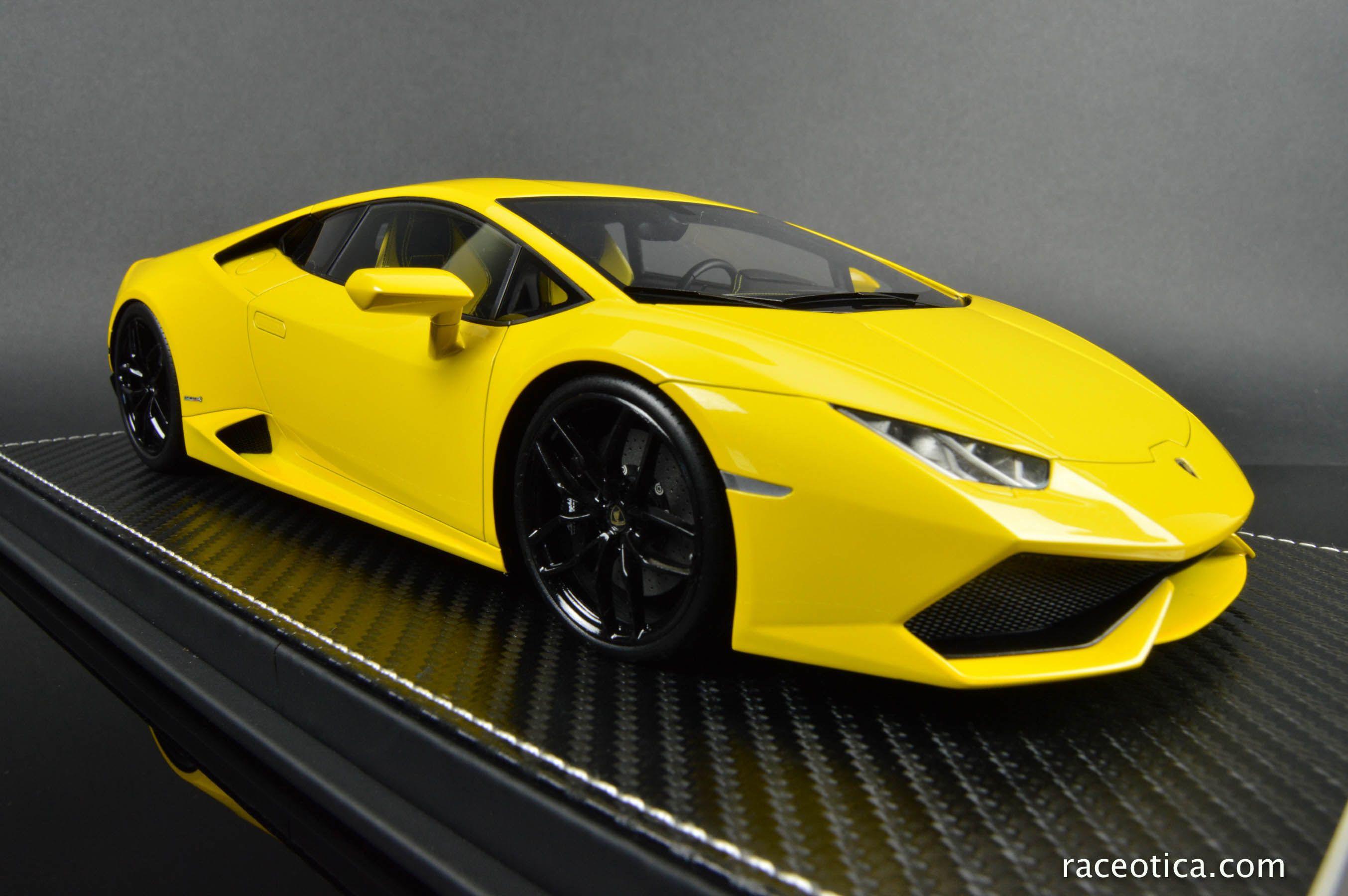Kyosho FrontiArt Yellow Lamborbhini Huracan! A true piece of art in ...