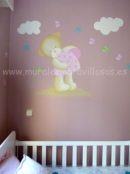 Murales Infantiles De Osos
