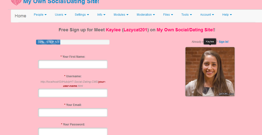 Social dating sites