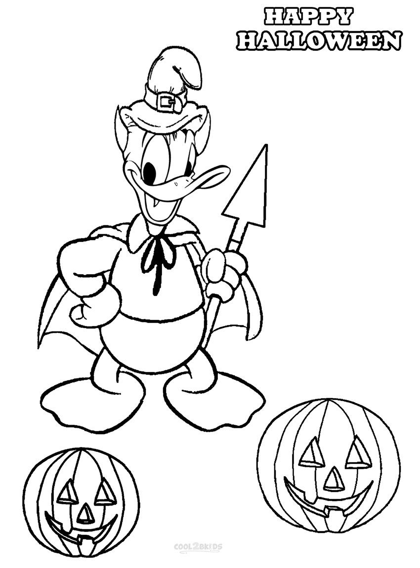 Printable Donald Duck Coloring Pages For Kids Cool2bkids Free