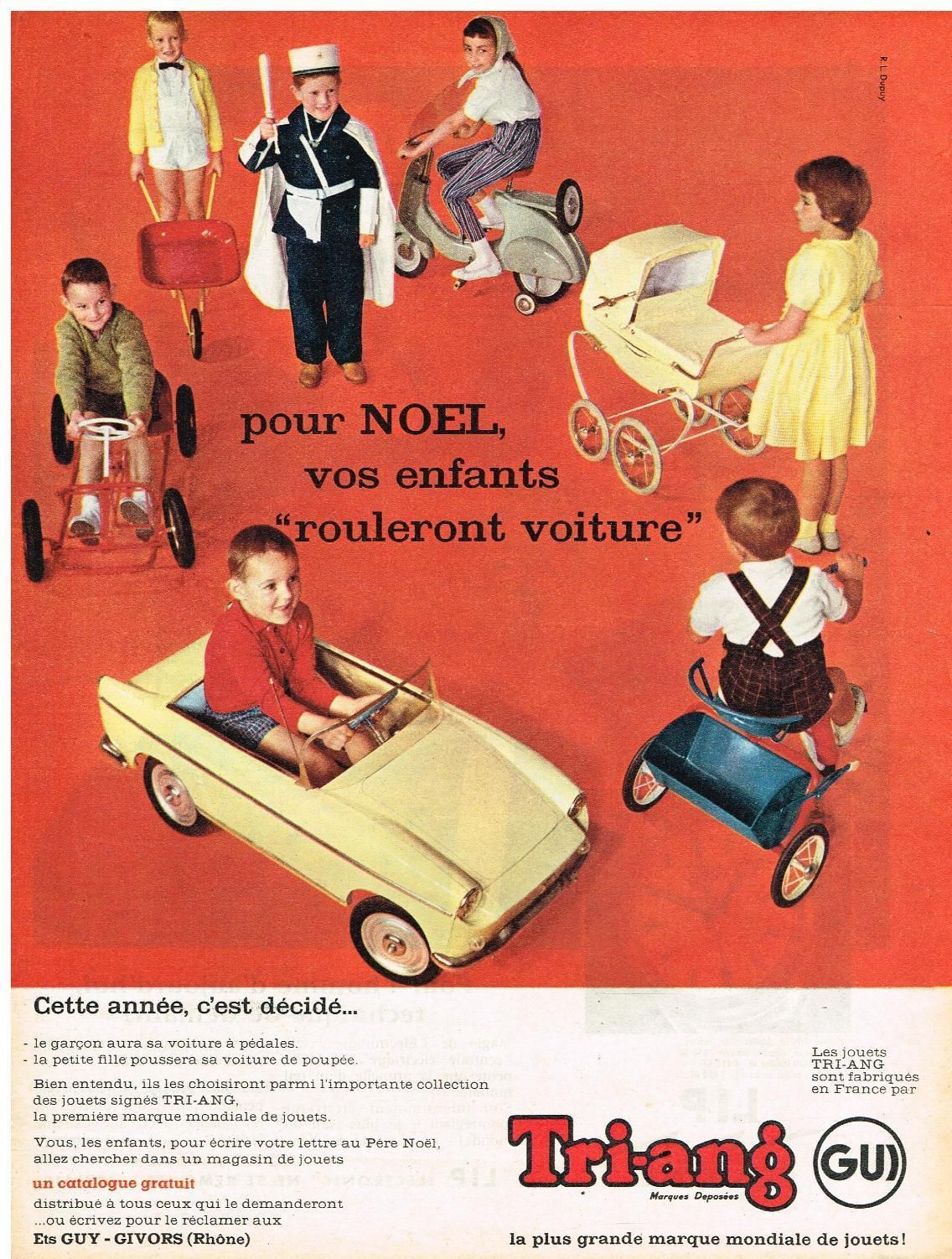 Original Tri Ang Toys Ad Retro Wheel Toys Tri Ang 1960 S Vintage