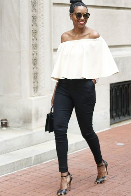 7 Ways To Wear Off The Shoulder Tops Right Now Fashion