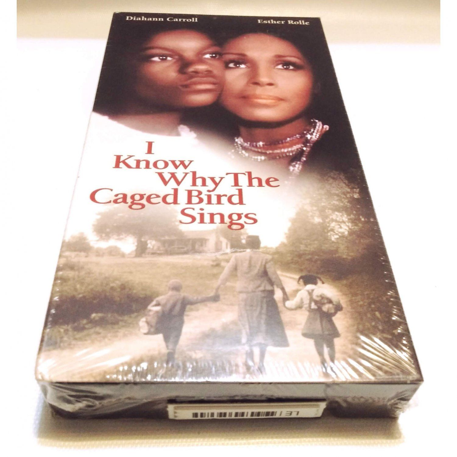 I Know Why The Caged Bird Sings Vhs 1998 Maya Angelou New Sealed Oop Out Of Print The Caged Bird Sings Maya Angelou Singing