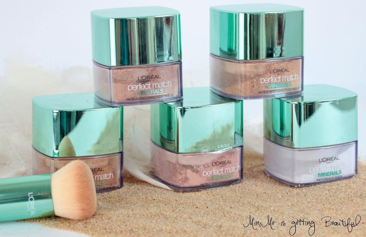 L'Oréal Minerals Puder Foundation Review Puder