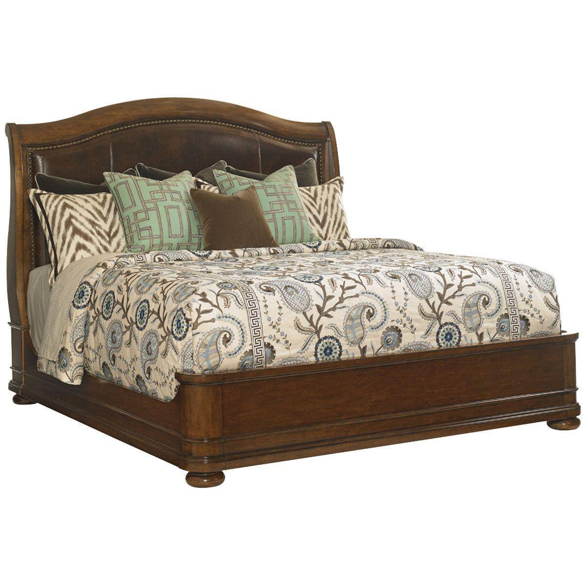 Lexington Coventry Hills Chandler Mills Sleigh Bed