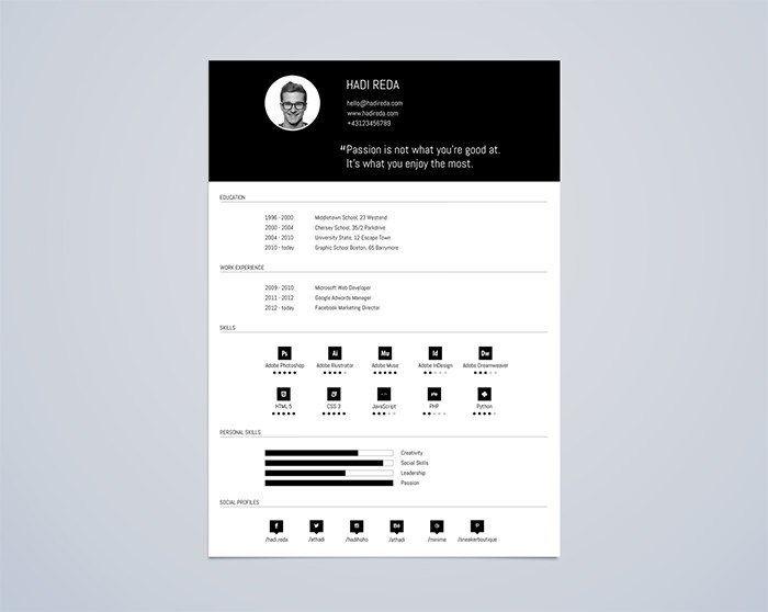 30+plantillas+gratis+para+un+curriculum+14+-+mclanfranconi | Diseño ...