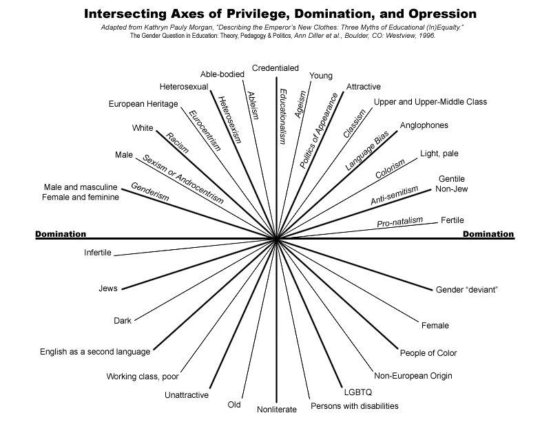 Privilege Domination Wheel Diversity And