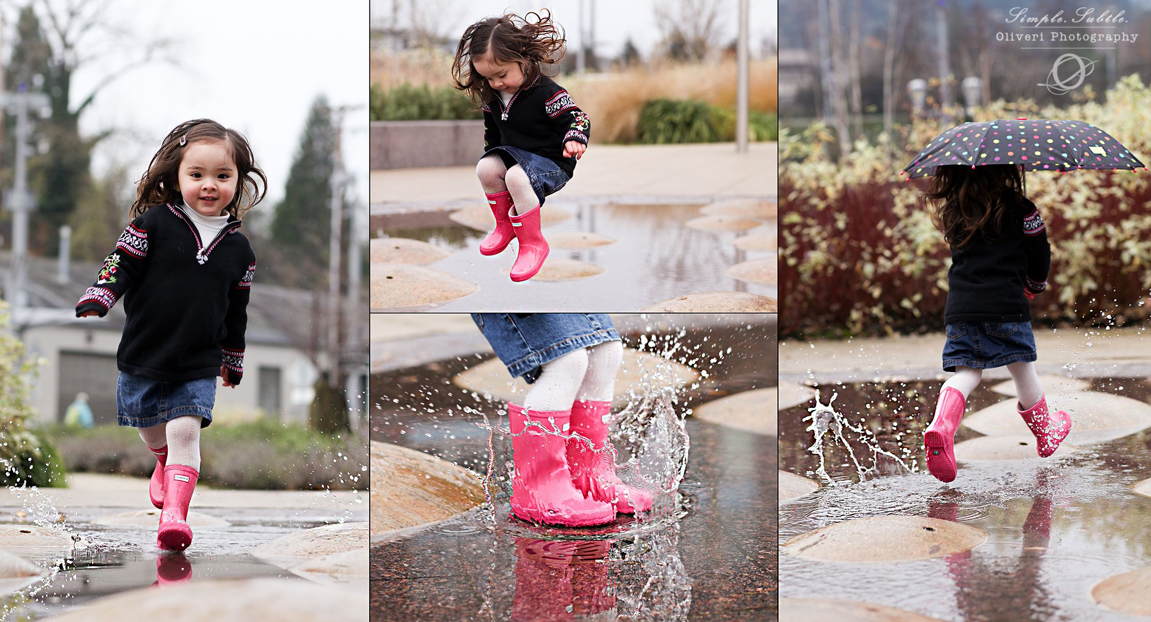 Serious Puddle Stomping